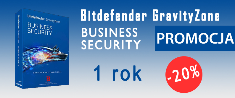 Bitdefender GravityZone Business Security 1 rok