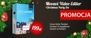 Movavi Video Editor Personal + Christmas Party Set