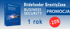 Bitdefender GravityZone Business Security 1 rok – 20%
