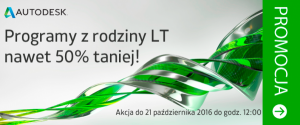 Autodesk LT do 50% taniej!